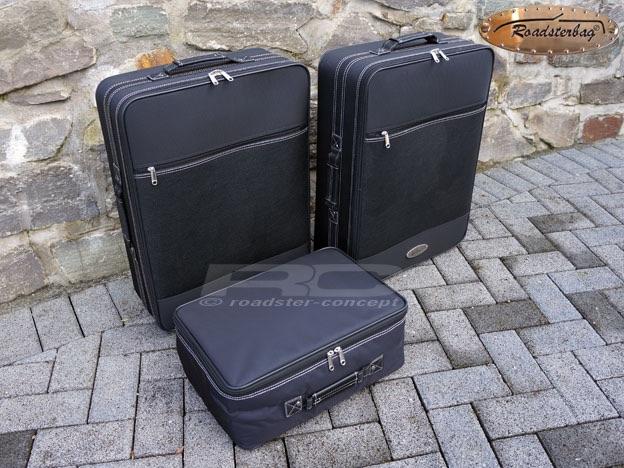 roadsterbag set de valise pour mercedes slk r170 jusqu 39 2004 noir nouvelle ebay. Black Bedroom Furniture Sets. Home Design Ideas