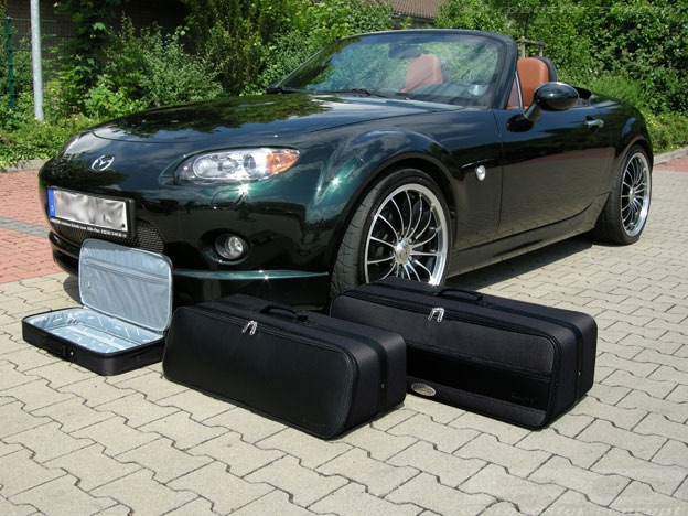 roadsterbag kofferset f r mazda mx 5 nc ebay. Black Bedroom Furniture Sets. Home Design Ideas