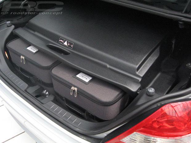 original roadsterbag koffer set f r mercedes slk r171 ebay. Black Bedroom Furniture Sets. Home Design Ideas