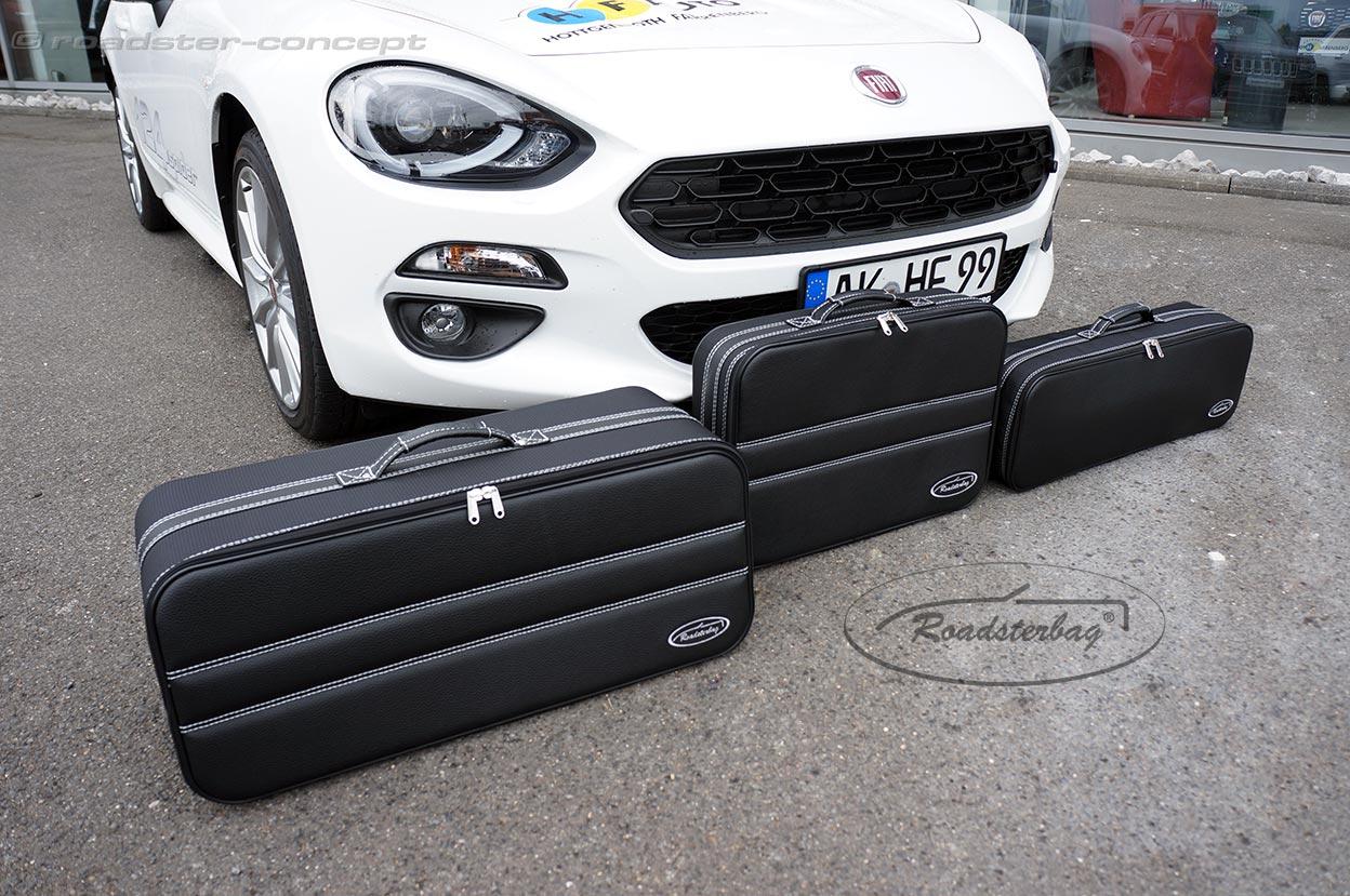 kofferset f r 124 spider roadster concept fiat 124. Black Bedroom Furniture Sets. Home Design Ideas