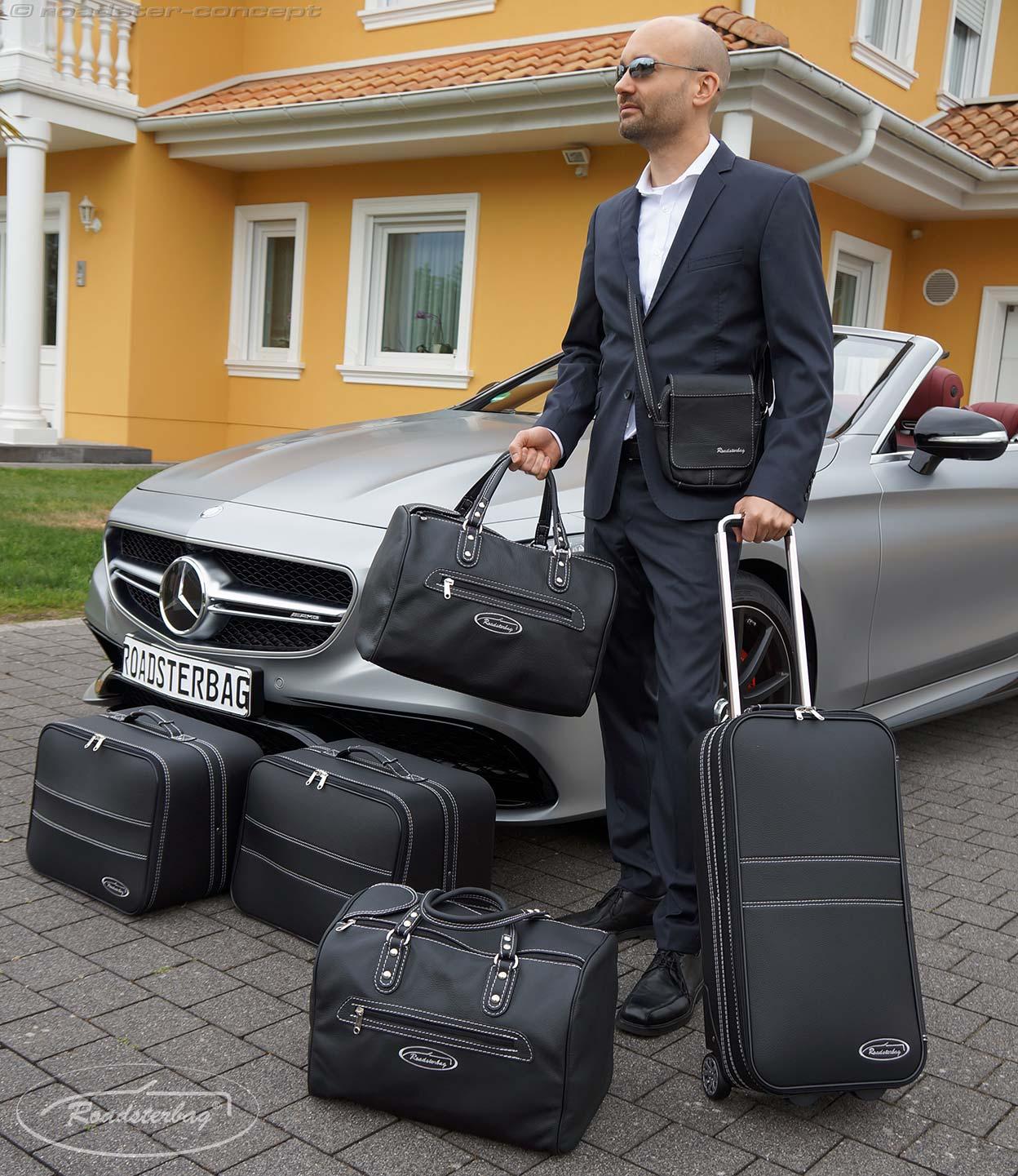 roadsterbag koffer mercedes e klasse cabrio c klasse s. Black Bedroom Furniture Sets. Home Design Ideas