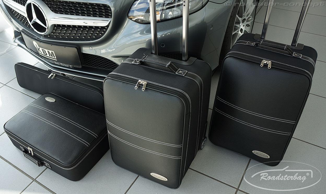 roadsterbag koffer mercedes slk r170 r171 r172 slc sl r230 r231 sls amg clk e klasse cabrio. Black Bedroom Furniture Sets. Home Design Ideas
